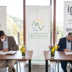 Once Málaga y Fundación Victoria firman un acuerdo de colaboración para fomentar el deporte adaptado